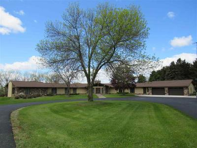 Green Lake County Single Family Home For Sale: N8565 Old Hwy 49