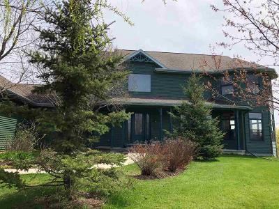 Fond du Lac County Single Family Home For Sale: W3836 Garden Drive Drive