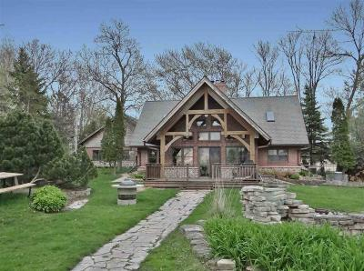 Fond du Lac County Single Family Home For Sale: N9732 Highland Park Road Road