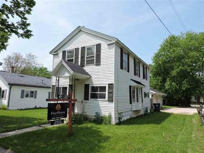 Fond Du Lac WI Single Family Home For Sale: $59,900