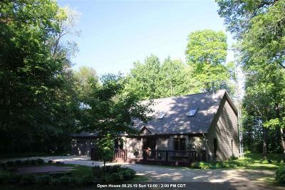 Rosendale Single Family Home For Sale: N9435 Sam Crest Lane Lane