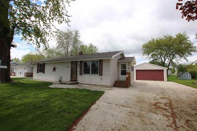 North Fond Du Lac Single Family Home For Sale: 1707 Chapman Avenue Avenue