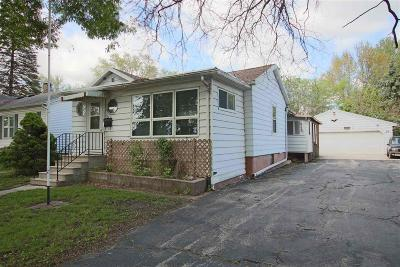 Fond Du Lac Single Family Home For Sale: 24 South Gould Street Street