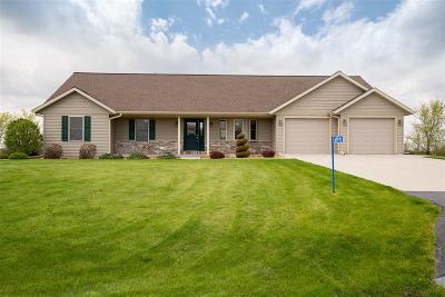 Fond du Lac County Single Family Home For Sale: N5970 Hideaway Lane Lane