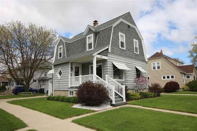 Fond Du Lac Single Family Home For Sale: 160 Warner Street Street
