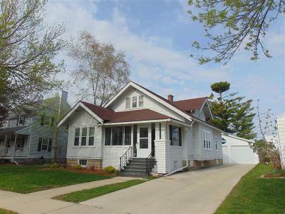 Fond Du Lac Single Family Home For Sale: 554 South Park Avenue Avenue
