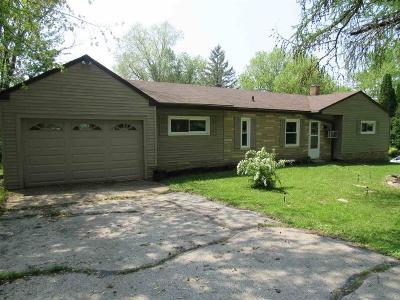 Green Lake County Single Family Home For Sale: 459 Scott Street Street
