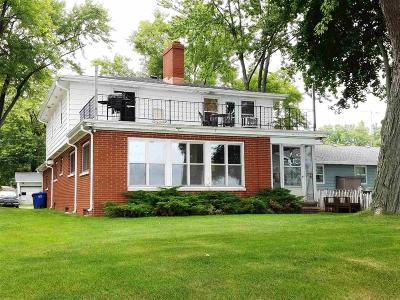 Winnebago County Single Family Home For Sale: 1623 Brighton Beach Road Road