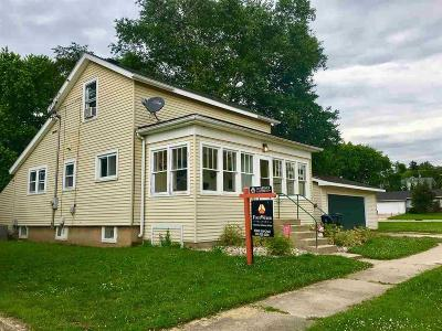 Green Lake County Single Family Home For Sale: 217 South State Street Street