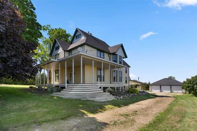 Omro Single Family Home For Sale: 7440 Oak Hill Road Road