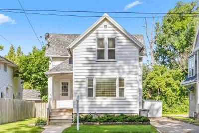 Oshkosh Single Family Home For Sale: 919 Wisconsin Street Street
