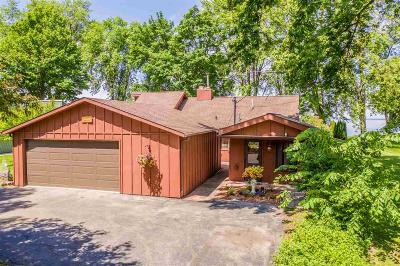 Fond du Lac County Single Family Home For Sale: N8702 Sylvan Bay Road Road