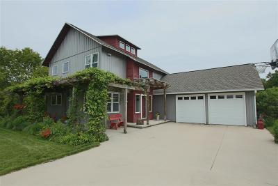 Fond du Lac County Single Family Home For Sale: W4419 Overland Trail Trail