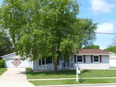 Fond Du Lac Single Family Home For Sale: 858 Martin Avenue Avenue