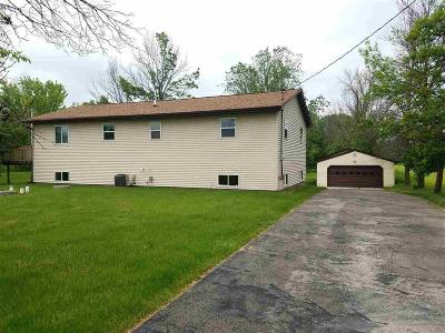 Campbellsport Single Family Home For Sale: N1140 Hwy W