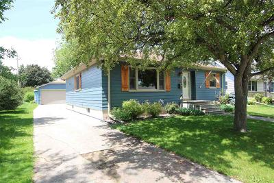 Fond du Lac County Single Family Home For Sale: 20 North Sallie Avenue Avenue
