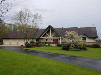Campbellsport Single Family Home For Sale: W1910 Haven Drive Drive