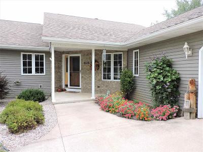 Omro Single Family Home For Sale: 725 East River Drive Drive