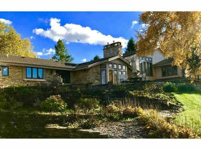 Fond Du Lac Single Family Home For Sale: N8342 Lakeview Road Road