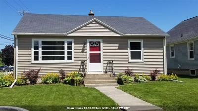 Fond du Lac County Single Family Home For Sale: 259 McKinley Street Street