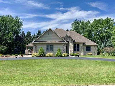 Fond du Lac County Single Family Home For Sale: N8062 Fairfield Drive Drive