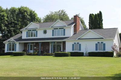 Fond du Lac County Single Family Home For Sale: N7772 Ledgeview Springs Drive Drive