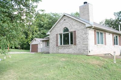 Fond du Lac County Single Family Home For Sale: W8722 Lone Elm Road Road