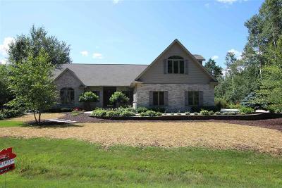 Fond du Lac County Single Family Home For Sale: W4944 Emery Lane Lane