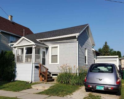 Fond Du Lac Single Family Home For Sale: 408 South Marr Street Street