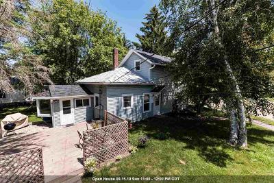 Omro Single Family Home For Sale: 205 Waukau Road Road