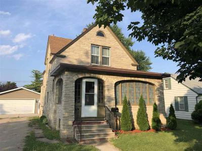 North Fond Du Lac Single Family Home For Sale: 436 Wisconsin Avenue Avenue