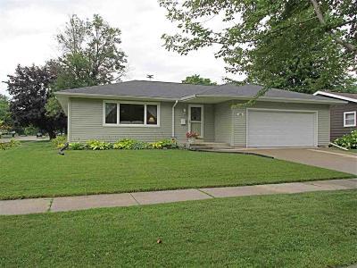 Fond du Lac County Single Family Home For Sale: 596 Sunset Lane Lane