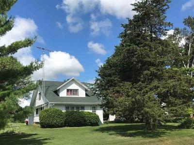 Fond du Lac County Single Family Home For Sale: W3090 Hwy K