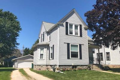 North Fond Du Lac Single Family Home For Sale: 541 Wisconsin Avenue Avenue