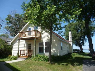 Fond du Lac County Single Family Home For Sale: N7594 Sandy Beach Road Road