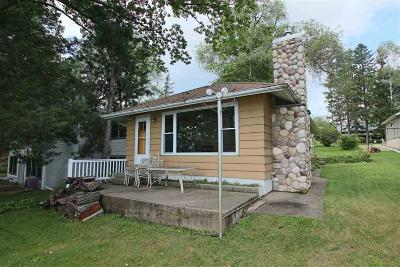 Green Lake County Single Family Home For Sale: N4782 North Lakeshore Drive Drive