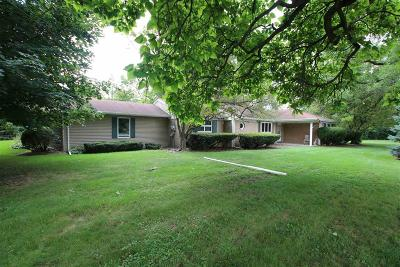 Fond du Lac County Single Family Home For Sale: N7071 Winnebago Drive Drive