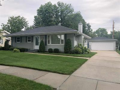 Fond du Lac County Single Family Home For Sale: 671 West Division Street Street