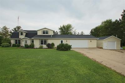 Fond du Lac County Single Family Home For Sale: N6730 Taft Road Road