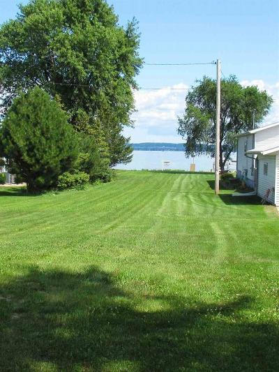 Fond du Lac County Residential Lots & Land For Sale: N8805 Lakeshore Drive Drive