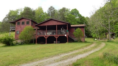 Ivydale WV Single Family Home For Sale: $169,900