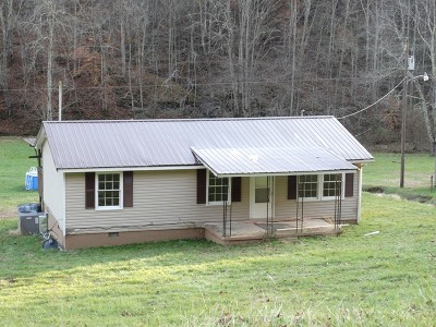 Mount Zion WV Single Family Home For Sale: $69,900