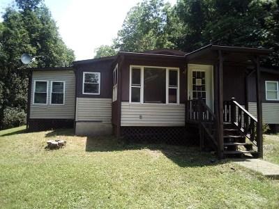 Arnoldsburg WV Single Family Home For Sale: $44,900