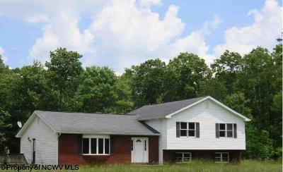 Mount Storm Single Family Home For Sale: Hc 76 Box 301u (Rr)