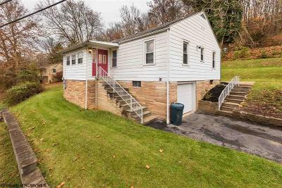 Morgantown WV Single Family Home Contingent: $137,000