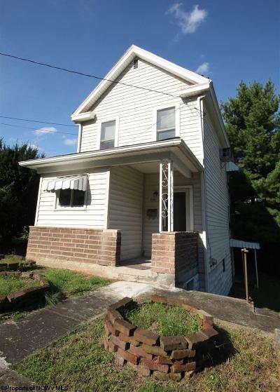 Morgantown Single Family Home For Sale: 593 Clark Street