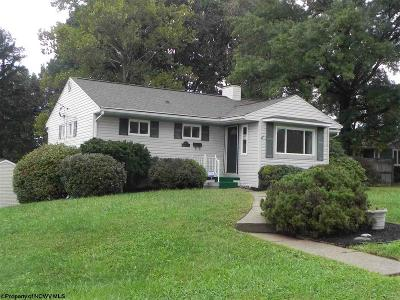 Morgantown Single Family Home Contingent: 527 Woodland Circle Drive