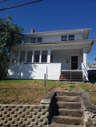 Morgantown Single Family Home For Sale: 805 Price Street