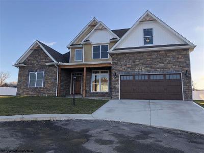 Morgantown Single Family Home New: 206 Chloe Lane