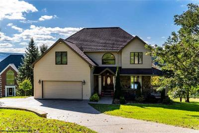 Morgantown Single Family Home New: 3708 Swallowtail Drive